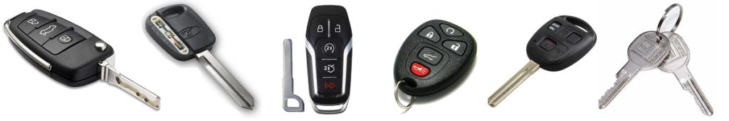Car Keys Types