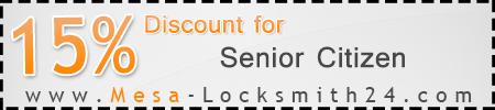 15% Off for Senior Citizen